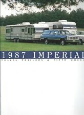 Travel Trailer Brochure - Holiday Rambler - Imperial - 1987 - 2 items (MH35)