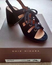 BNWB Chie Mihara Lace-Up Sandals, Model Ocielo, Black, Size 38 / UK 5