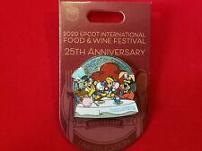 Disney Pin 2020 EPCOT Food & Wine 25th Anniversary Alice in Wonderland LE 3000