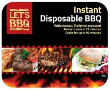 Instant Disposable BBQ (Ready To Cook In 15 Minutes)