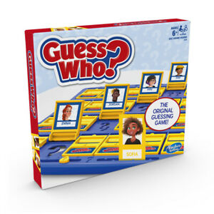 Guess Who Board Game Hasbro
