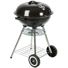 TecTake Kettle Barbecue Charcoal Grill Round With Wheels