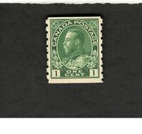 Canada SCOTT #125 One Cent MH F stamp