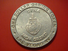 $1 MGM GRAND CASINO 1993 GAMING COIN TOKEN Las Vegas Nevada DINA
