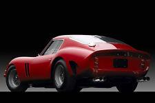 FERRARI 250 GTO VINTAGE  (R-V)20 X 30 LARGE POSTER  VINTAGE CAR POSTER