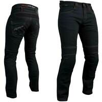 RST Aramid Tech Pro Black Motorbike Motorcycle CE Textile Jeans | All Sizes