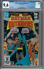 Batman and the Outsiders # 1 CGC 9.6 WP