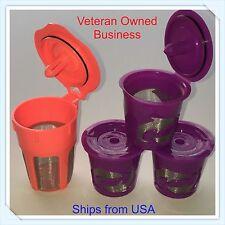 Keurig 2.0 K-cups K-Carafe Refillable Reusable K-cup Coffee Filter Pod Combo