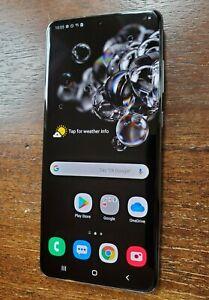 Samsung Galaxy S20 Ultra SM-G988U (Unlocked/Sprint) 128GB Gray LIGHT SCREEN BURN