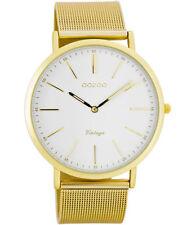 Vergoldete Armbanduhren mit Messing