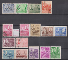 North Borneo 1950 Used Set to $10 Cat £150