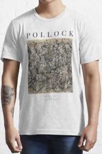 Pollock No 31 T shirt Art / %100 Premium Cotton