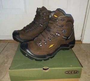 NEW Keen Durand II Mid Men's Hiking Boots Cascade/Gargoyle Hunting Waterproof