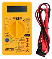 Digital Electrical Multimeter with Auto Polarization AC/DC Large LCD Screen