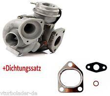Turbolader BMW 320 d ( E46) Motor: M47TU 1995 ccm110 Kw mit Dichtungssatz