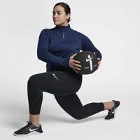 Nike Women's Pro Capri 3/4 Length Tight Fit Black Plus Size 2X, 3X
