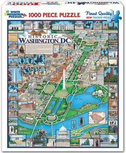 White Mountain Washington DC 1000 piece jigsaw puzzle 760mm x 610mm (wmp)