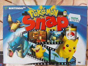 Pokemon Snap N64 Spiel komplett mit OVP und Anleitung