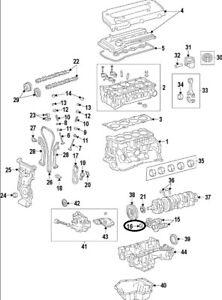 For Toyota Genuine Engine Balance Shaft Bearing 119112801102
