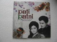 Pati Patni R D BURMAN Hindi LP Record Bollywood India Mint-1298