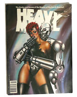 HEAVY METAL MAGAZINE, JANUARY 1990  1st Edition 1st Printing