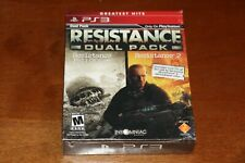 Resistance Dual Pack (Sony PS3 Game, 2011) - Brand New