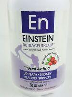 Einstein Nutraceuticals Fast Acting Urinary Kidney Bladder Support Exp 2/2020