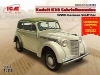 ICM 35483 - 1/35 German regular car Kadett K38 Cabriolimousine, WWII