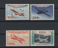 i129301/ FRANCE / AIRMAIL / Y&T # 30 / 33 MINT MNH COMPLETE – CV 465 $