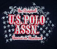 U.S. POLO ASSN. / ORIGINAL AMERICAN STANDARD / RED & BLUE T-SHIRT SIZE 2XL