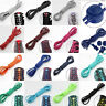 2X Elastic No-Tie Locking Shoelaces Shoe Laces With Buckles For Sport Shoes\