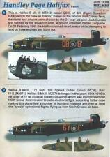 Print Scale Decals 1/72 HANDLEY PAGE HALIFAX British Medium Bomber Part 1