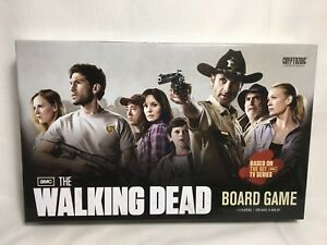 The Walking Dead Board Game Cryptozoic 2011 Complete