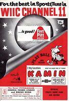 1959  Baseball program, Chicago Cubs @ Pittsburgh Pirates ~ unscored
