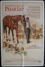 Phar Lap (1983) US One Sheet Horse Racing TOM BURLINSON