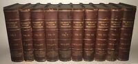 LEATHER Set;WORKS OF WILLIAM SHAKESPEARE!Gorgeous ANTIQUARIAN Complete Gift 1895