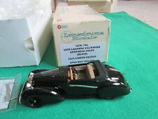LANSDOWNE MODELS 1/43 SCALE - LDM 78X - 1939 LAGONDA V12 RAPIDE DROPHEAD COUPE