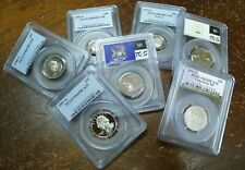 ANTIQUE,SILVER,ANCIENT,PCGS,WWII,HOARD,PROOF,BARBER. 12 Items ESTATE COIN LOT