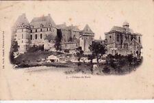 BIRON 7 château timbrée 1904