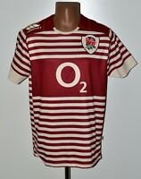 ENGLAND NATIONAL TEAM RUGBY UNION SHIRT JERSEY CANTERBURY SIZE L ADULT