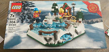 Lego Ice Skating Rink 40416 Limited Edition Rare 2020 - 304pcs New in Hand!