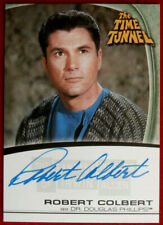 THE TIME TUNNEL - ROBERT COLBERT - Personally Signed Autograph Card A8 - 2004