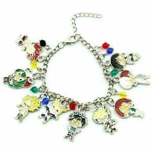 Anime My Hero Academia Bracelet Retro Metal Chain Charm Jewelry Popular Hot Gift
