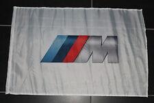 BMW M Gmbh 2 3 4 5 6 Bandiera Banner Gagliardetto Segni Officina Bianco