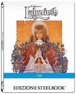 """""""DIE REISE INS LABYRINTH"""" - Jim Henson Fantasy Kult - BLU RAY STEELBOOK deutsch"""
