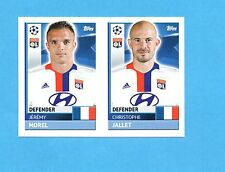 TOPPS-CHAMPIONS 2016-2017-Figurina n.LYO6+LYO7- MOREL+JALLET  -OLYMPIQUE L-NEW