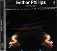 "ESTHER PHILLIPS  ""ANTHOLOGY""  CD"