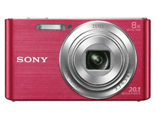 Cámara - Sony Cyber-shot DSC-W830P, 20Mp, Zoom 8x, HD, Rosa