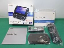 PlayStation Portable -- PSP Go Console -- Boxed. Piano Black. Japan Game. 297