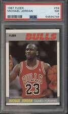 1987 Fleer #59 Michael Jordan HOF  PSA 7 NM 66259
